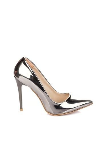 Pembe Potin A1760-17 Kadın Topuklu Ayakkabı A1760-17 Pembe